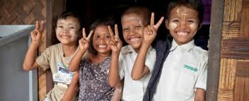 enfants en birmanie